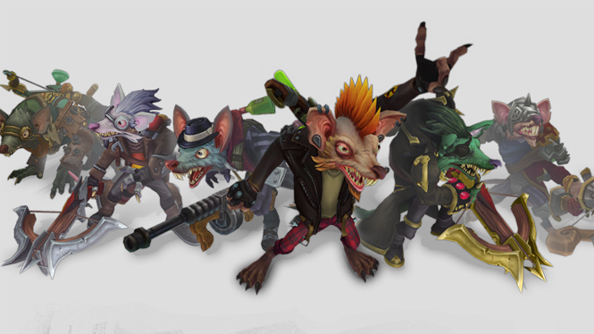 Twitch, and his many new skins.