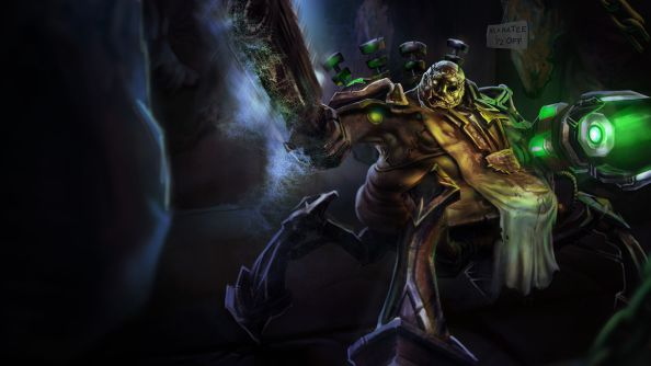 Riot talk their next major League of Legends champion rework: Urgot, the Headsman's Pride