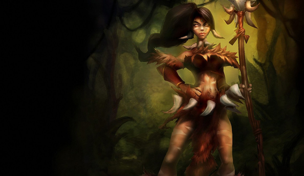 See Nidalee post-visual makeover in the new League of Legends Champion Spotlight