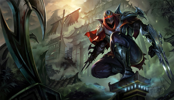 Riot Champion Spotlight on Zed, League of Legends' latest