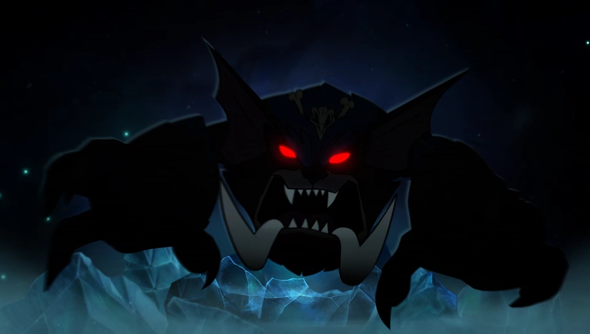 Gnar, looking less like a family man.