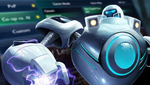 Intro Bots might looks like this - or they might look like any other League of Legends champion. Cunning like that.