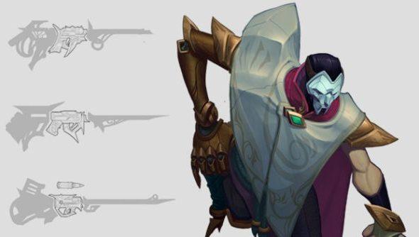 League of Legends Jhin concept art