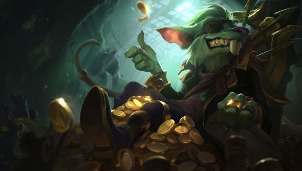 League of Legends players get legendary skin shards with Twitch
