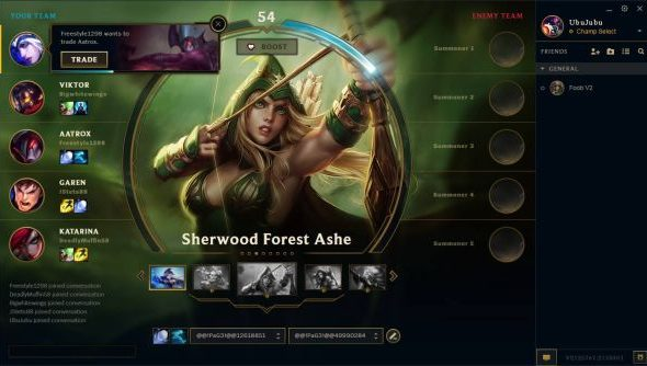 The new League of Legends client is revealed in leaked alpha video