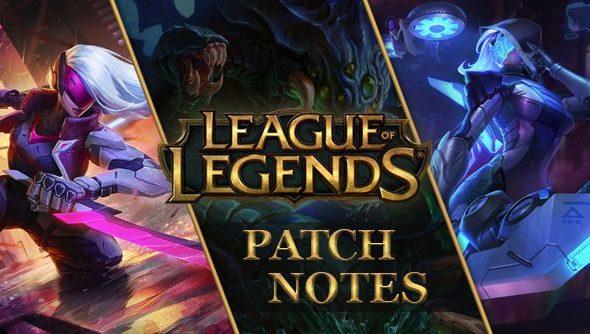 League of Legends patch 6.15