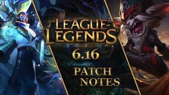 League of Legends patch 6.16