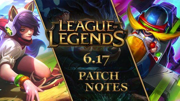 League of Legends patch 6.17