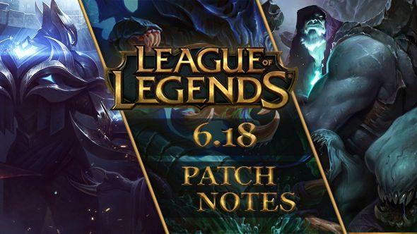 League of Legends patch 6.18