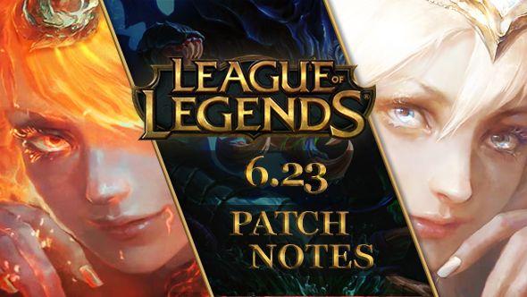 league of legends patch 6.23