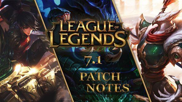 League of Legends patch 7.1