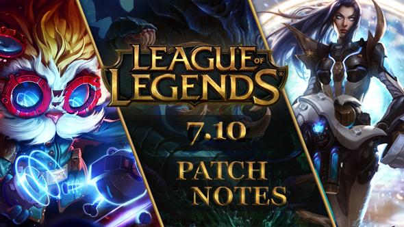 League of Legends patch 1.10