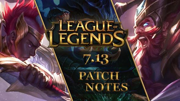 League of Legends patch 7.13