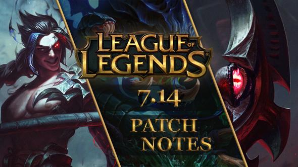 League of Legends patch 7.14