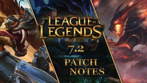 League of Legends patch 7.2
