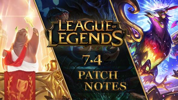 League of Legends patch 7.4