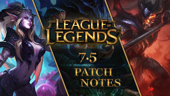 League of Legends patch 7.5