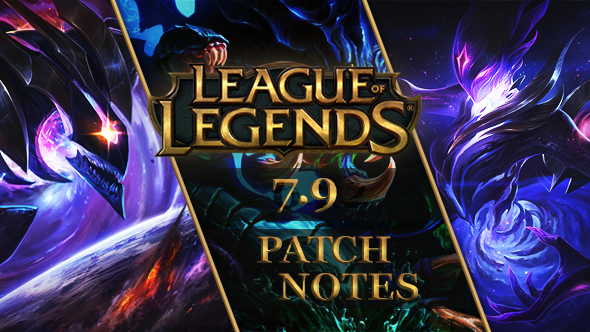 League of Legends patch 7.9