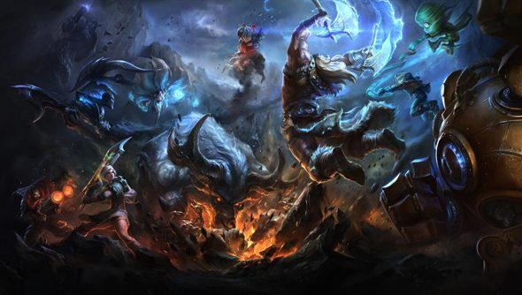 League of Legends dwarfs all other contenders for PC-gaming-by-usage, surprise surprise.