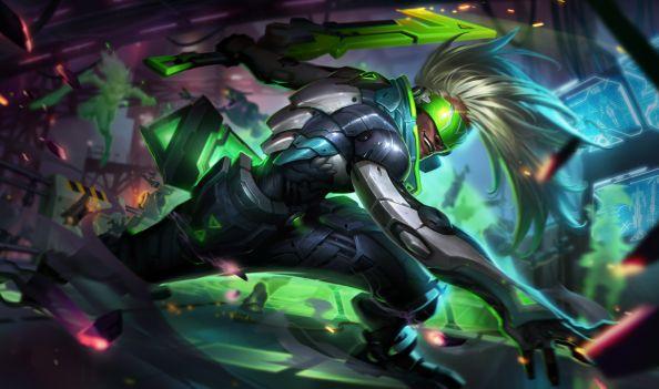 League of Legends Project Ekko Splash Art