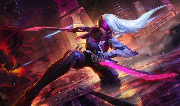 League of Legends Project Katarina Splash Art