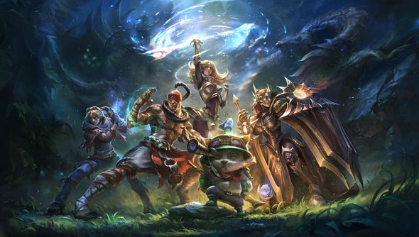 Before Team Builder, League of Legends players had to work out team composition in-match.