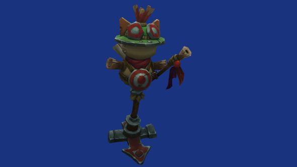 League of Legends patch 7.2 training dummy