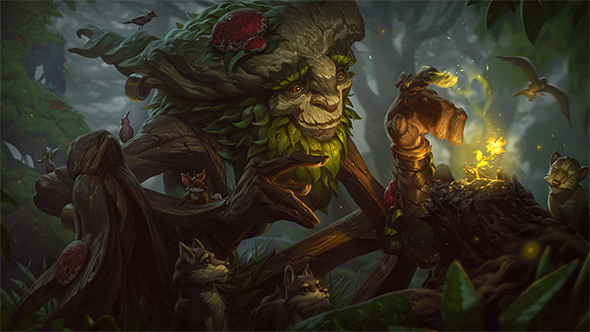 LoL's next gameplay update adds a bit of horticulture to the jungle