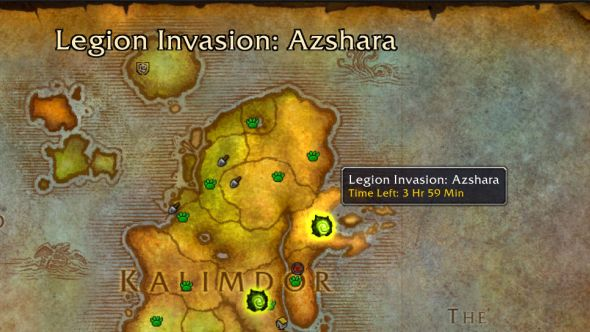 Legion World Map.World Of Warcraft Legion Demon Invasion Guide Pcgamesn