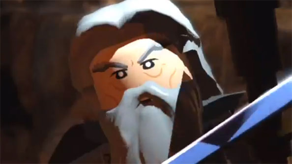 Lego The Lord of the Rings trailer features a passable, parodic Ian McKellan-alike