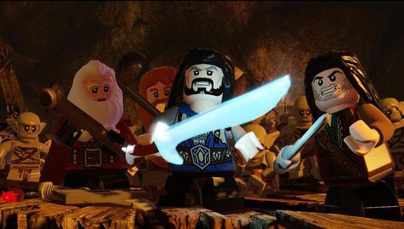 Lego the hobbit traveller's Tales