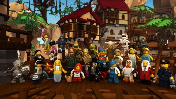 Lego Minifigures Online open beta: bricks without substance