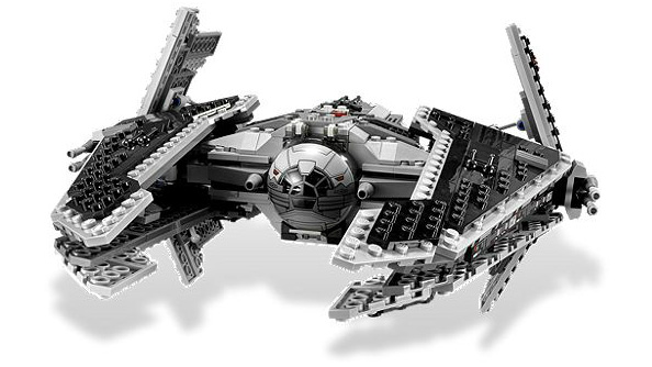 Lego Star Wars: The Old Republic is here, Imperial Interceptor rendered in plastic