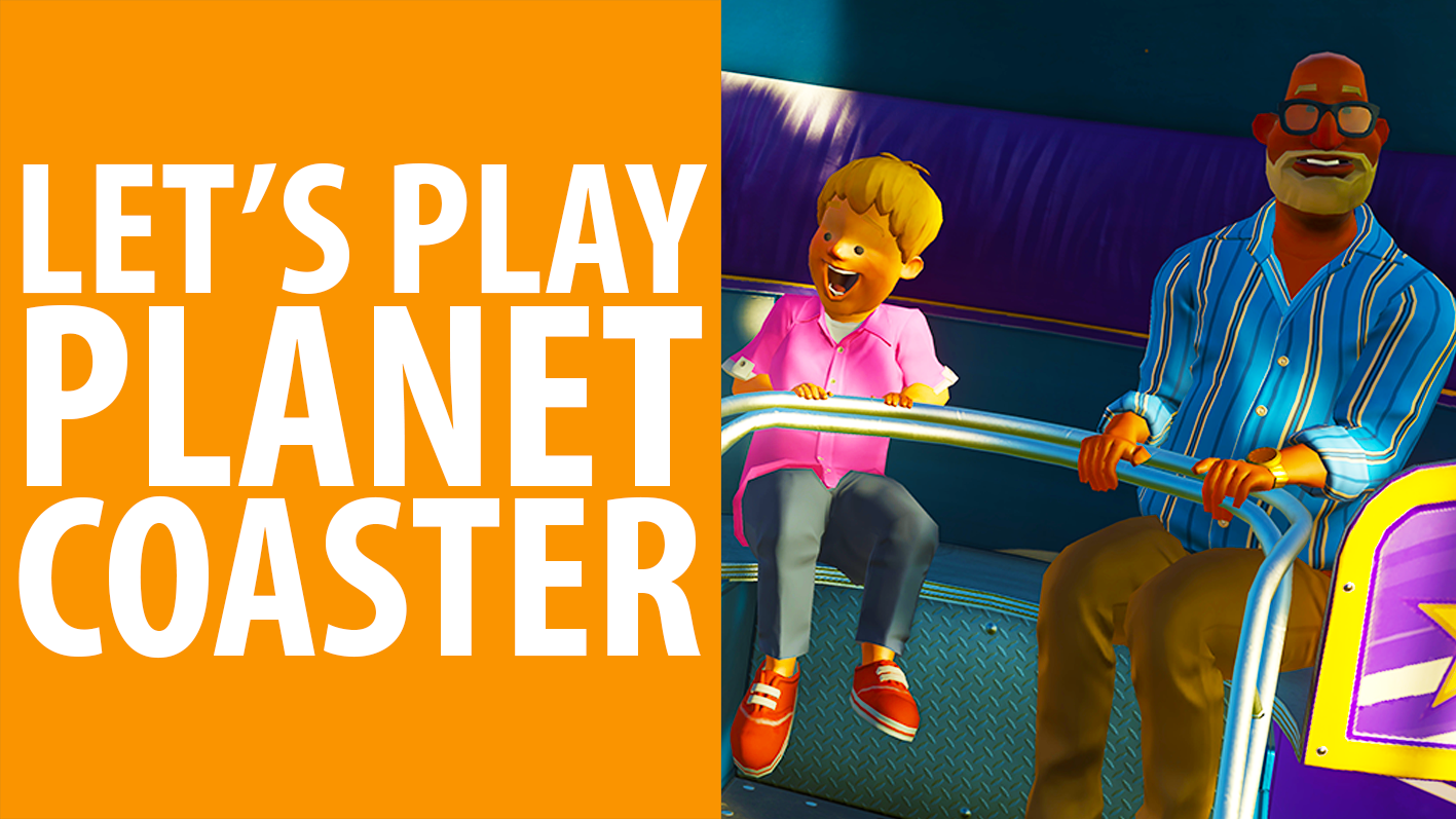 Watch us build roller coasters with complete disregard for health and safety in Planet Coaster