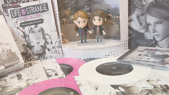 Free games: Win a copy of the Life is Strange: Before the Storm Vinyl Edition