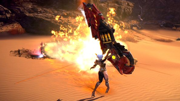 TERA returns to Steam as free-to-play; celebrates with new Gunner class
