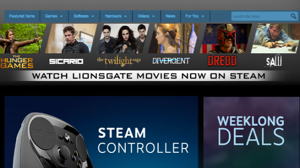 Hunger Games, Twilight and more join Steam in Lionsgate deal; UK gets the Leprechaun boxset