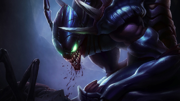 Kha'Zix, the next addition to League of Legends is teased by Riot