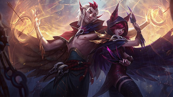 League of Legends animated short introduces Rakan and Xayah as stylishly as possible