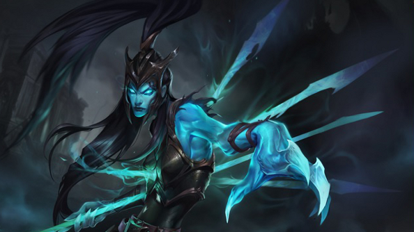 Kalista, League of Legends' new champion, is a bit miffed about being murdered