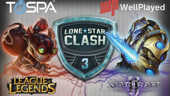 Lone Star Clash 3 features not one, not two, but three eSports events in LoL and StarCraft.