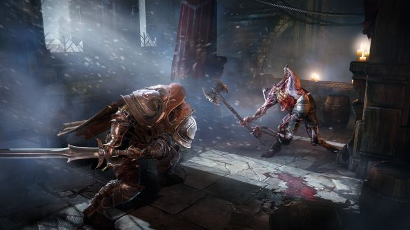 "Lords of the Fallen footage showcases mid-game boss fights and the ""medieval BFG"""