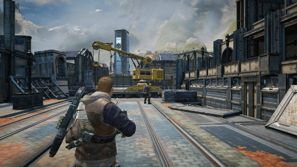 Gears of War 4 PC port review - low settings
