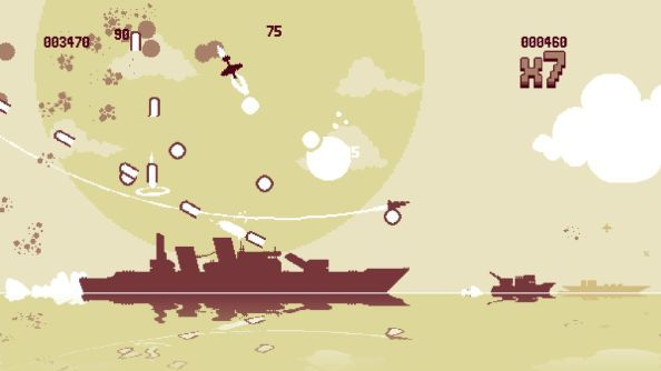 Luftrausers is designed around a simple ethos: make the player feel cool.