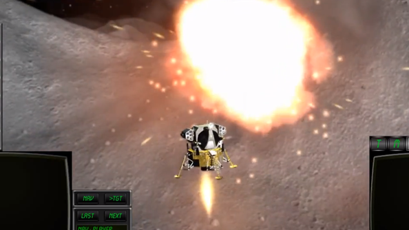 Lunar Flight update adds missiles to multiplayer - LRM for the LEM!