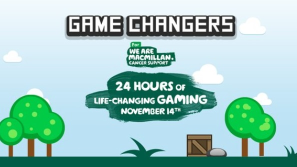 Macmillan are gaming for 24-hours to raise money for cancer support