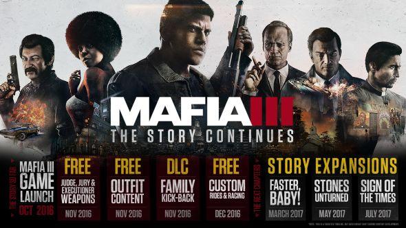 Mafia 3 DLC Roadmap
