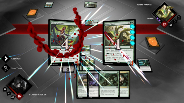 Magic: Duels of the Planeswalkers 2015 gets a bit metal