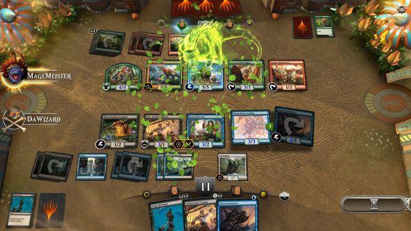 Magic: The Gathering Arena dinosaur