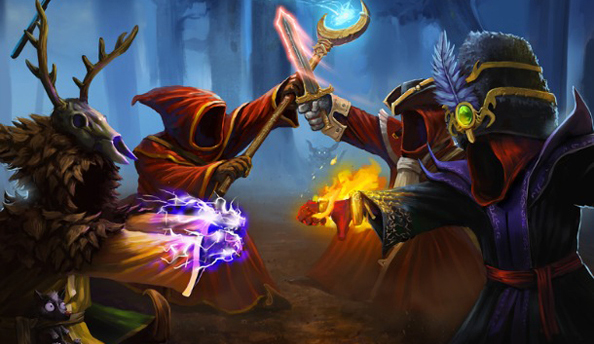 Magicka: Wizard Wars challenges you to a duel